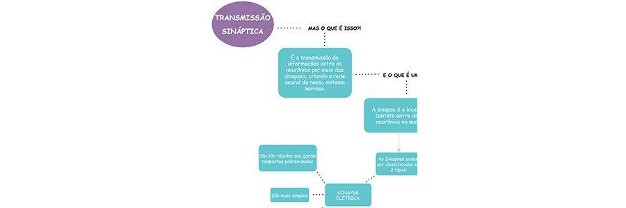 Mapa Mental Transmissão Sináptica